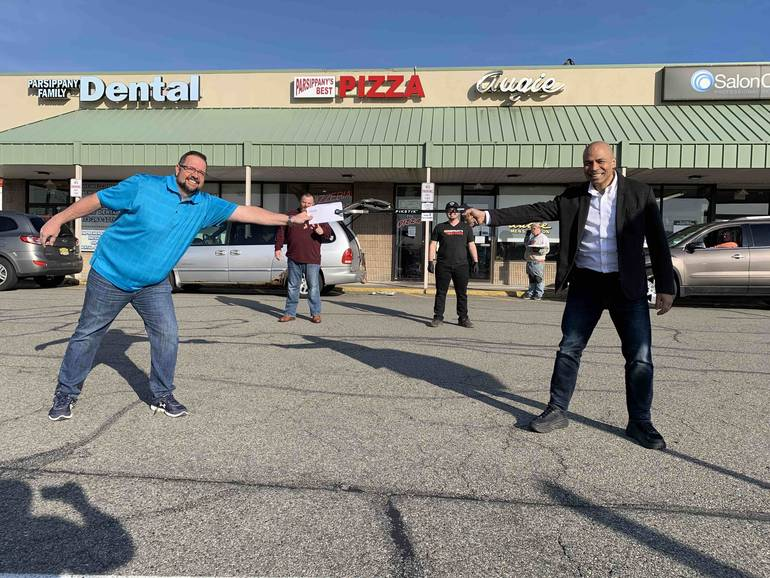 a Mayor Soriano of Parsippany and Ed Hansberry at Parsippany Deli.jpg