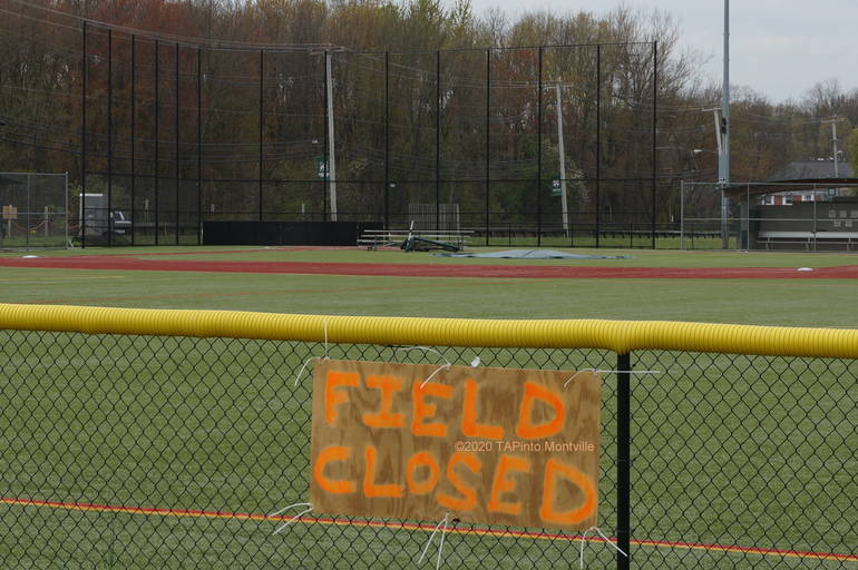 a Montville Twp High Schools Fields are Closed ©2020 TAPinto Montville    4.JPG
