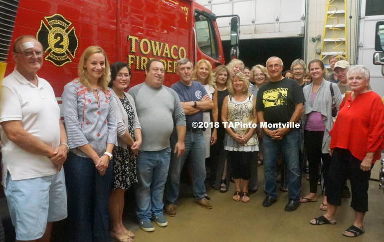 a Members of the Towaco Civic Association tour the Towaco Volunteer Fire Department ©2018 TAPinto Montville   1..JPG