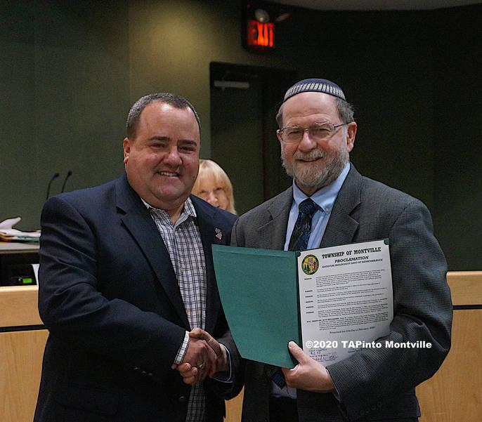 a Mayor Frank Cooney and Rabbi Mark Finkel ©2020 TAPinto Montville.JPG