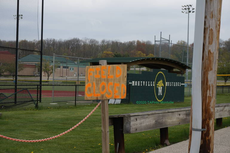 a Montville Twp High Schools Fields are Closed ©2020 TAPinto Montville    1.JPG
