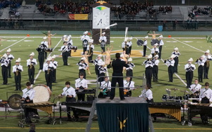 Carousel image 94bdb73aed0da1396385 a morris knolls competes in the 2016 mths band competition