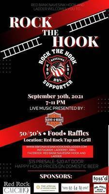 Red Bank Fire Department Fundraiser at Red Rock Tap + Grill