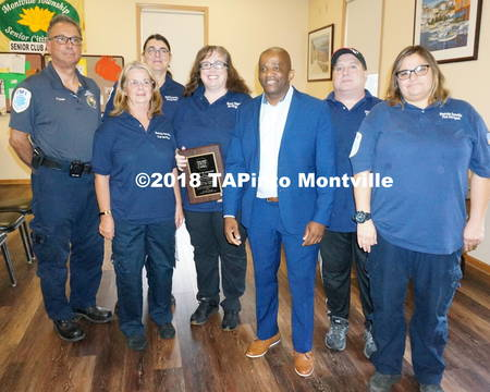Top story 6e8d1eb26f491c58862f a members of the montville township first aid squad with alton robinson of morris county cares  2018 tapinto montville
