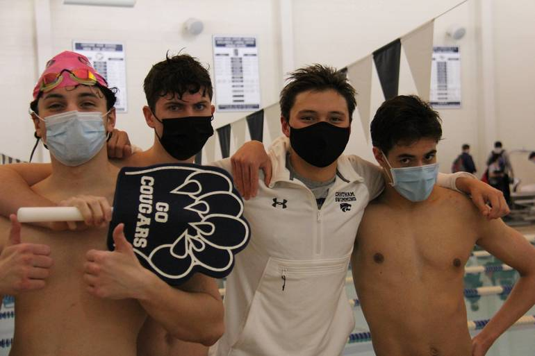 Chatham High School Swimming Celebrates Seniors, Continues virtual schedule against Parsippany