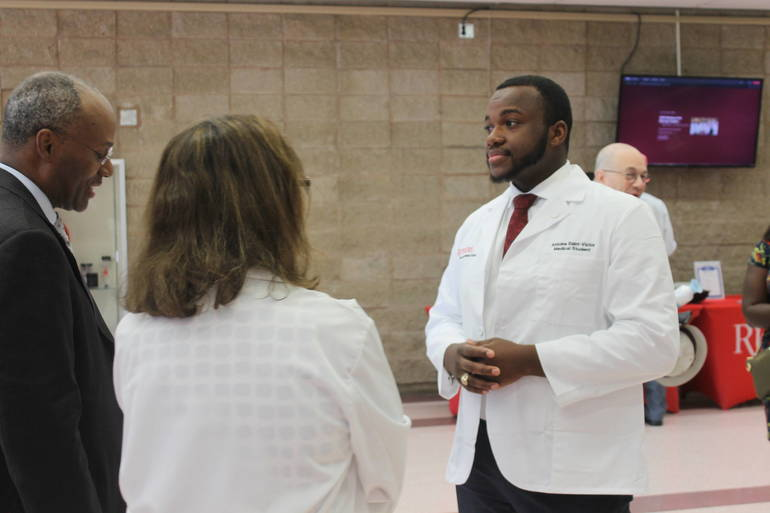 From Newark, to Cornell, then White Coat: One Man's Journey