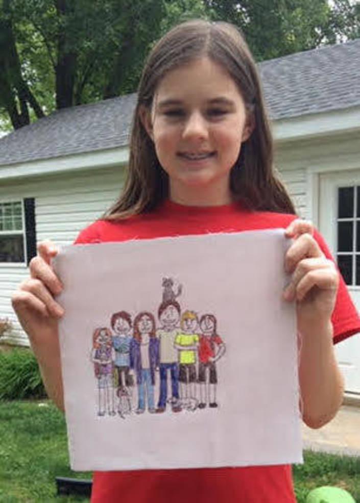 Anna with her flag.jpg