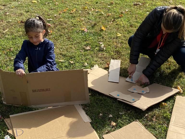 Anabella Gonzalez creates with cardboard.jpg