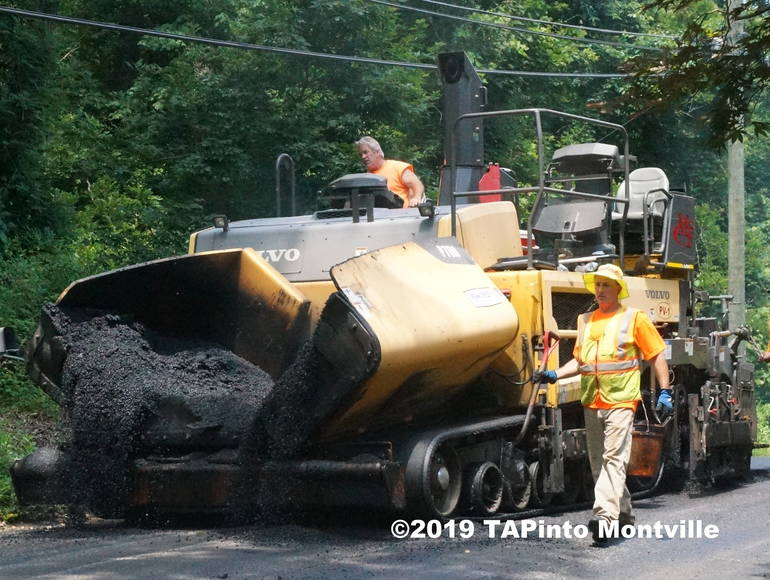 a Paving in the township ©2019 TAPinto Montville 1.JPG