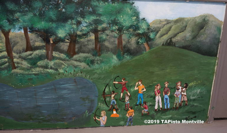 A portion of the mural. Photo ©2019 TAPinto Montville.JPG