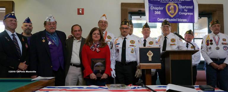 a Purple heart award ©2019 TAPinto Montville.JPG