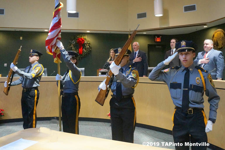a Police Expolorers Post 805 Colorguard ©2019 TAPinto Montville.JPG