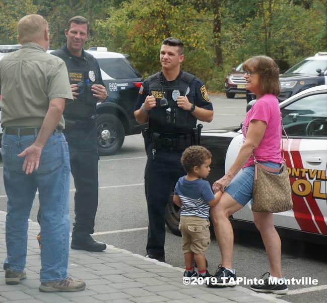 a Patrolman Sean Regan and Dan Cooney at Coffee with a Cop ©2019 TAPinto Montville.JPG