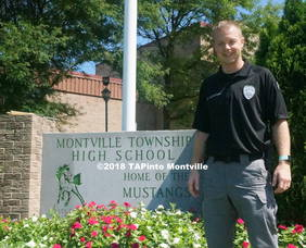 Carousel image 34d90de46ca8d7aa2b20 a patrolman scott mcgowan  the new school resource officer in the montville township public school district  2018 tapinto montville   1.