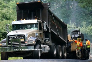 Carousel image 351b067bd477488b9c4e a paving on turkey hill road  2018 tapinto montville  paint2.
