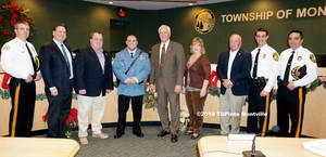 Carousel image 539b1470ba36895642d6 a police officer joseph colella and the township committe 1  2019 tapinto montville