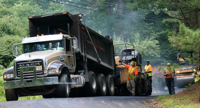 Top story a828078deac6b947f7fa a paving in montville township  2020 tapinto montville   2