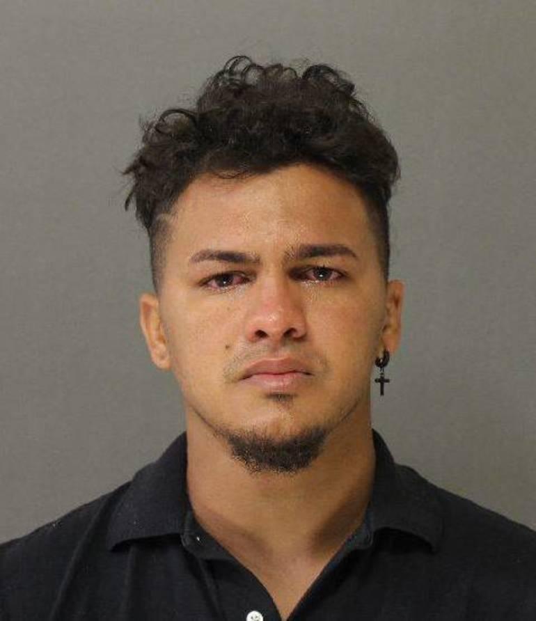 Arrested Eridson Rodriguez.JPG