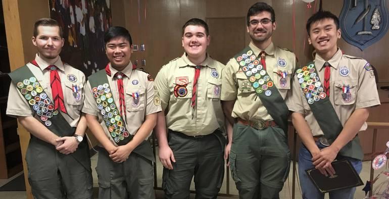 article photo Cole, Nick, Tim, Doug and Ethan Troop 68 Eagle CoH  01.06.2019.jpg