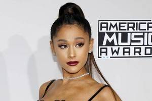 Carousel image 1b414214932edf24600c ariana grande american music awards held microsoft theater los angeles usa november ariana grande 135829657