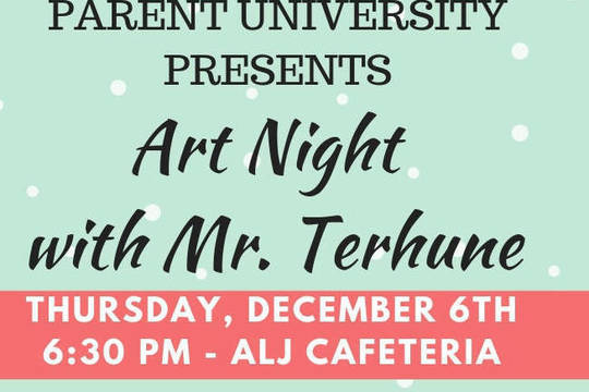 Top story e41f6cddc23b5b0715ab art night with mr. terhune