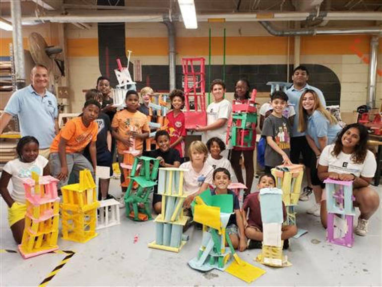 Engineering Explorations Summer Camp Concludes Second Year at West