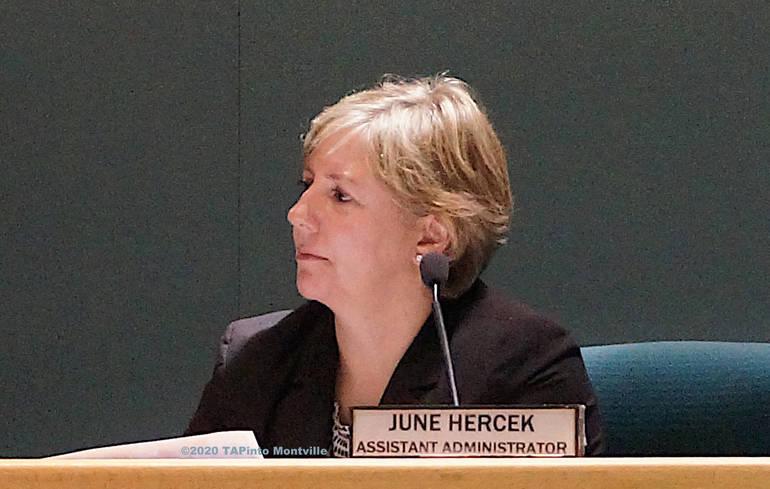 Assistant Twp Administrator June Hercek in 2015 ©2020 TAPinto Montville.JPG