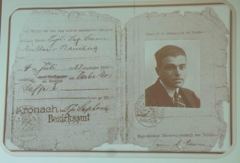 a Sigmund Marx's driver's license Lisa Salko.JPG