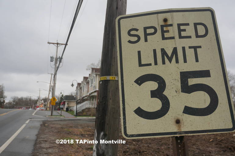 A Driving Tour of Montville's New Speed Limits