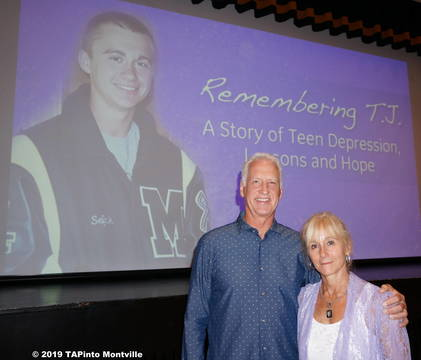 Top story f928aef1d5d3042f3d20 a steve and wendy sefcik present on their son tj in 2017  2019 tapinto montville