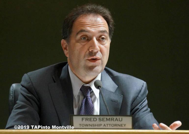 a Township Attorney Fred Samrau ©2019 TAPinto Montville.JPG