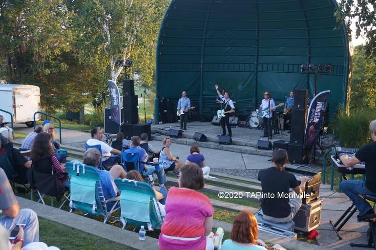a The Mighty Spectrum Band performs at the Community Park Amphitheater ©2020 TAPinto Montville stock.JPG