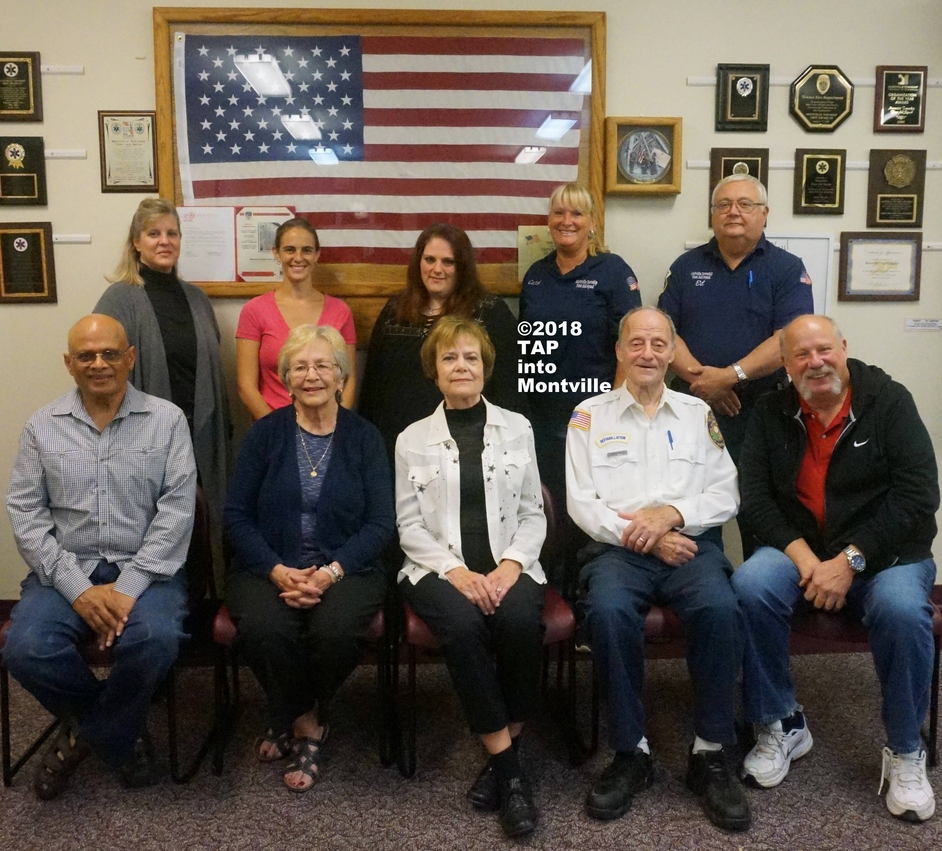 a Ten of the 15 Montville Vol First Aid Squa 9.11 Responders ©2018 TAPinto Montville   1.JPG
