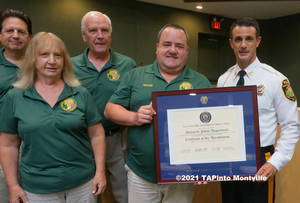 Carousel image 223d856cd51a348a87e1 a the montville twp committee with police chief andrew caggiano  2021 tapinto montville