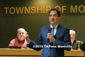 Carousel image 58cca21241fa67b81c50 a township attorney fred semrau explains the affordable housing plan at the oct. 16  2018 meeting  2019 tapinto montville
