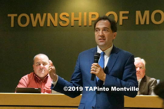 Top story 58cca21241fa67b81c50 a township attorney fred semrau explains the affordable housing plan at the oct. 16  2018 meeting  2019 tapinto montville