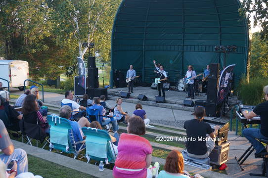 Top story 6830b52a564164ef7e39 a the mighty spectrum band performs at the community park amphitheater  2020 tapinto montville stock