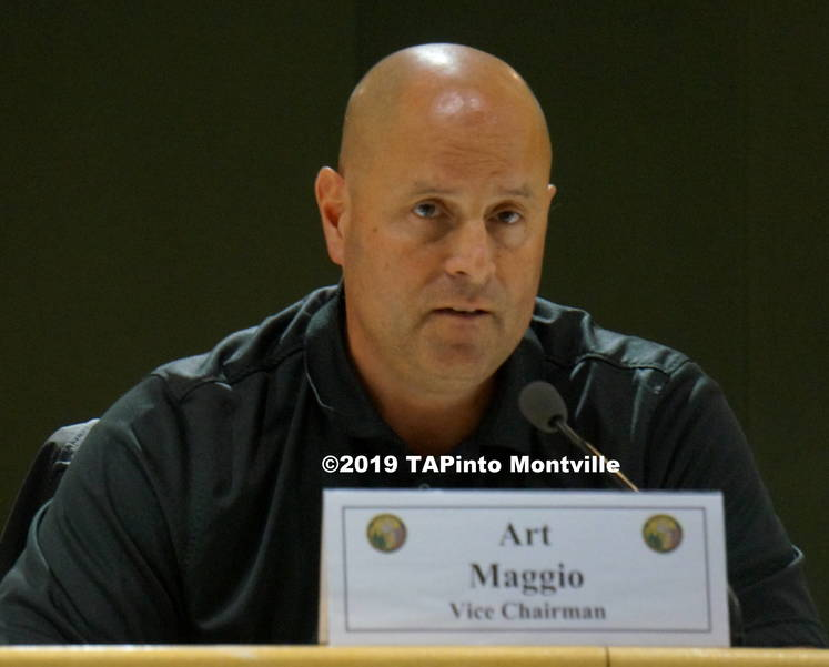 a Vice Chair for the hearings Art Maggio ©2019 TAPinto Montville.JPG