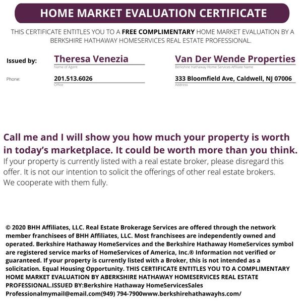 Home Certificate