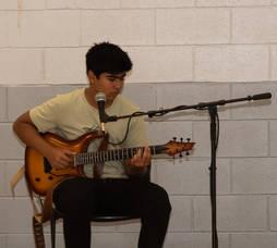 Livingston Freshman Aims to Cheer Local Seniors with Live Music