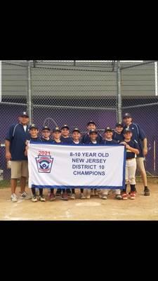 Kenilworth Little League Wins District Championship