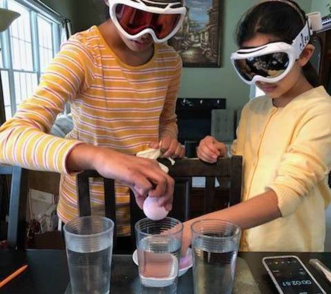 Warren's ALT Students Show Off Their Science