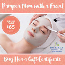 Pamper Mom with Facials and a Massage for Mother's Day