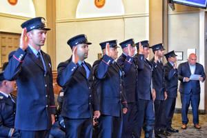 Bloomfield Fire Department Promotes Five, Swears in Seven