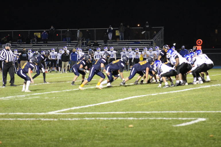 Varsity Football: Brearley Goes out with a Bang Against Metuchen