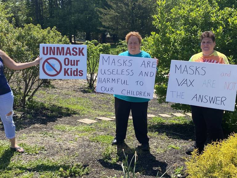 VIDEO: No More 'Face Diapers': Protesters Demand Mask Relief as Trader Joe's, Walmart, Sam's Club andCostco Start Dropping  Mask Requirements