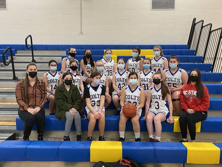 Spotswood's Memorial Middle School Girls Basketball Team Happy To Be Able To Play Season During Pandemic