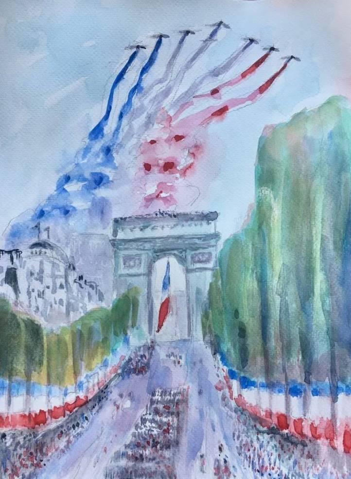 'Bastille Day'  9' x 12'.jpeg