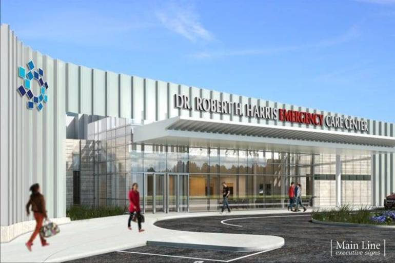 Timelapse Video: Dr. Robert H. Harris Emergency Care Center Nearing Completion