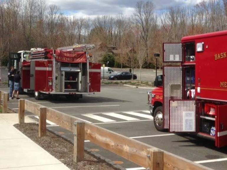 Basking Ridge firetruck